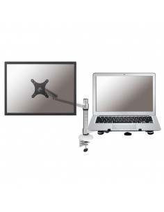 "Newstar FPMA-D300NOTEBOOK monitorin kiinnike ja jalusta 68.6 cm (27"") Hopea Newstar FPMA-D300NOTEBOOK - 1"