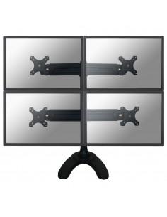 """Newstar FPMA-D700DD4 monitorin kiinnike ja jalusta 76.2 cm (30"""") Musta Newstar FPMA-D700DD4 - 1"""