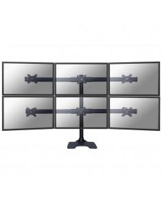"Newstar FPMA-D700DD6 monitorin kiinnike ja jalusta 68.6 cm (27"") Vapaasti seisova Musta Newstar FPMA-D700DD6 - 1"
