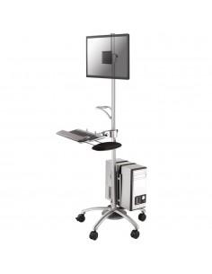 Newstar FPMA-MOBILE1800 multimediavagnar & ställ Silver Multimediavagn Newstar FPMA-MOBILE1800 - 1
