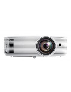 Optoma W308STe data projector Desktop 3600 ANSI lumens DLP WXGA (1280x800) 3D White Optoma E1P1A28WE1Z1 - 1