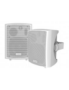 Vision SP-800P högtalare 3-vägs Vit Kabel 24 W Vision SP-800P - 1