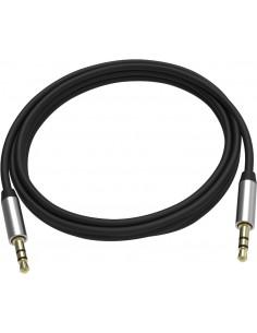 Vision TC 2M3.5MMP/BL- audiokaapeli 2 m 3.5mm Musta, Hopea Vision TC 2M3.5MMP/BL - 1
