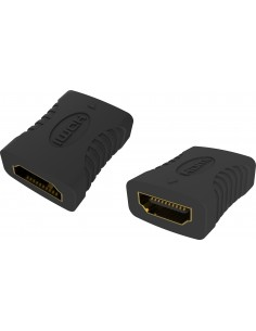 Vision TC-HDMIFF cable gender changer HDMI-A Musta Vision TC-HDMIFF - 1