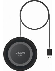 Vision TC-QI mobilladdare Svart, Grå inomhus Vision TC-QI - 1