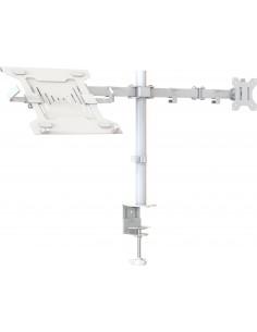 "Vision VFM-DPD2W+S Notebook stand 68.6 cm (27"") & monitor arm White Vision VFM-DPD2W+S - 1"