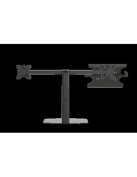 """Vision VFM-DSDG+S Kannettavan tietokoneen teline 41.9 cm (16.5"""") ja näytön varsiteline Musta Vision VFM-DSDG+S - 3"""