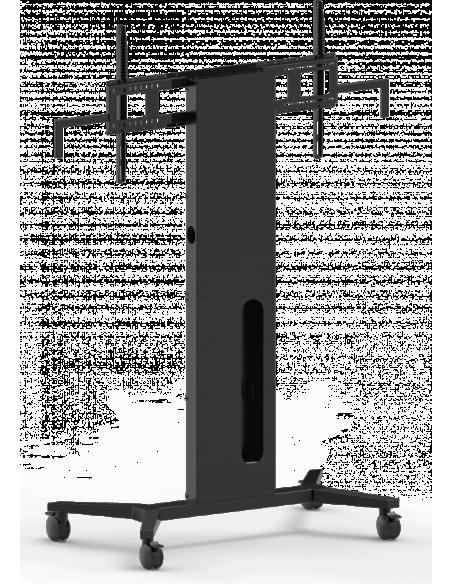 Vision K/ F40 Floorstand - Portable Musta Vision VFM-F40/W - 3