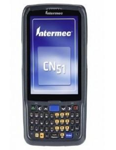 "Intermec CN51 mobiilitietokone 10.2 cm (4"") 480 x 800 pikseliä Kosketusnäyttö 350 g Musta Intermec CN51AQ1SNU2W1000 - 1"