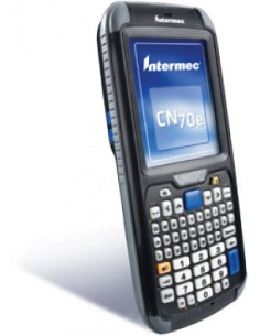 "Intermec CN70e RFID-handdatorer 8.89 cm (3.5"") 480 x 640 pixlar Pekskärm 491 g Svart Intermec CN70EQ6KN00W1100 - 1"
