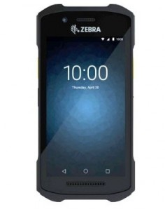 "Zebra TC21 mobiilitietokone 12.7 cm (5"") 1280 x 720 pikseliä Kosketusnäyttö 236 g Musta Zebra TC210K-01A222-A6 - 1"