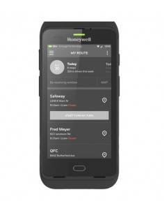 "Honeywell CT40 handheld mobile computer 12.7 cm (5"") 1280 x 720 pixels Touchscreen 278 g Black Honeywell CT40-L0N-1NC110E - 1"