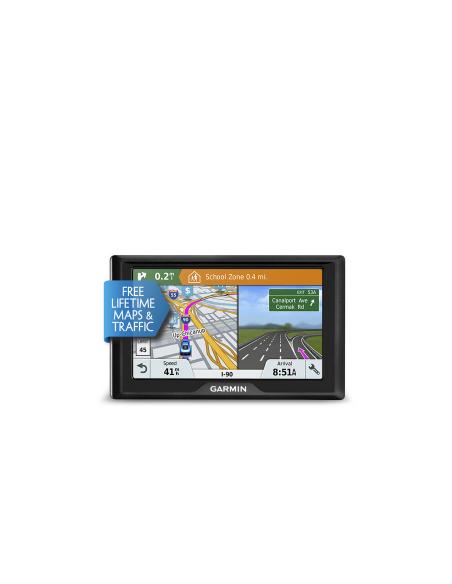 """Garmin Drive 51 LMT-S navigaattori Kiinteä 12.7 cm (5"""") TFT Kosketusnäyttö 170.8 g Musta Garmin 010-01678-12 - 3"""