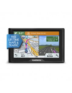 "Garmin Drive 61 LMT-S navigator Fixed 15.5 cm (6.1"") TFT Touchscreen 241 g Black Garmin 010-01679-12 - 1"