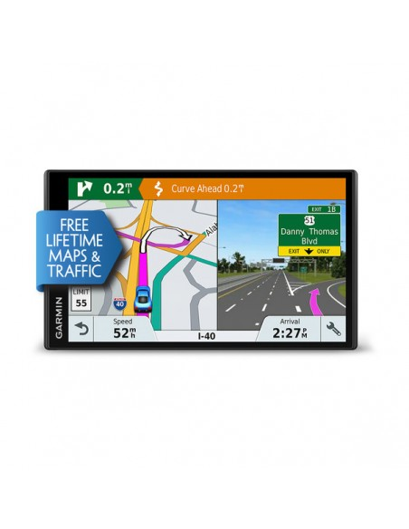 "Garmin DriveSmart 61 LMT-S navigator Fixed 17.6 cm (6.95"") TFT Touchscreen 243 g Black Garmin 010-01681-12 - 3"