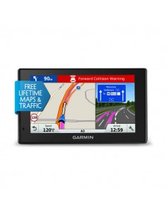 """Garmin DriveAssist 51 LMT-S navigaattori Kiinteä 12.7 cm (5"""") TFT Kosketusnäyttö 191.4 g Musta Garmin 010-01682-12 - 1"""