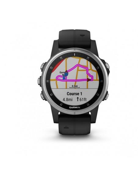 "Garmin fēnix 5S Plus 3.05 cm (1.2"") 42 mm MIP Silver GPS (satellite) Garmin 010-01987-21 - 2"