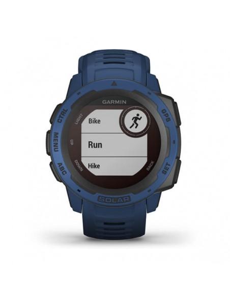 Garmin Instinct Solar MIP Blue GPS (satellite) Garmin 010-02293-01 - 4