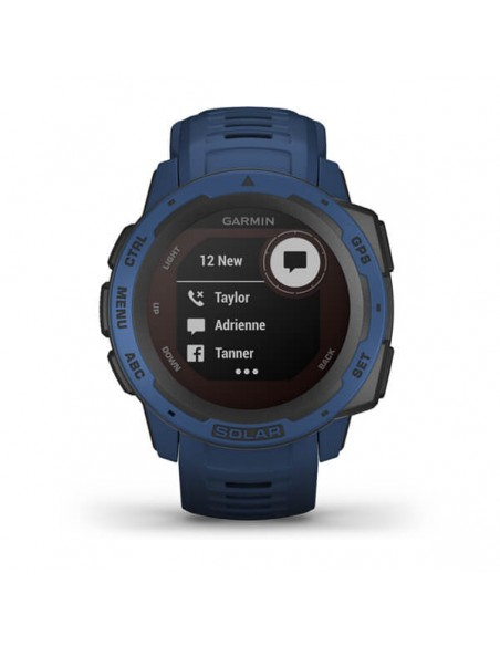Garmin Instinct Solar MIP Blue GPS (satellite) Garmin 010-02293-01 - 8