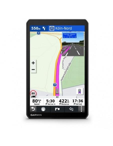 "Garmin dēzl™ LGV1000 navigator Fixed 25.6 cm (10.1"") TFT Touchscreen 534 g Black Garmin 010-02315-10 - 3"
