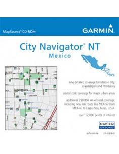 Garmin City Navigator® Mexico NT navigaattorin kartta Garmin 010-10755-00 - 1