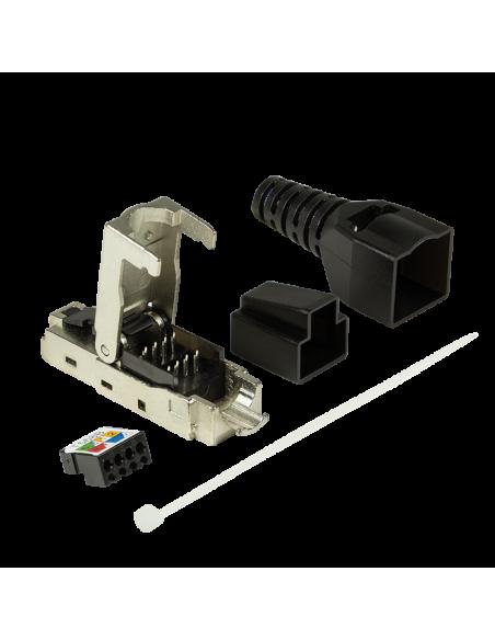 LogiLink MP0044 liitinjohto RJ-45 Ruostumaton teräs Logitech MP0044 - 4