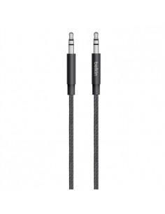 Belkin 3.5mm - 3.5mm, 1.25m audiokaapeli 1.25 m Musta Belkin AV10164BT04-BLK - 1