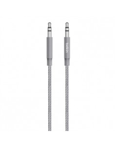 Belkin AV10164BT04-GRY audiokaapeli 1.2 m 3.5mm Harmaa Belkin AV10164BT04-GRY - 1