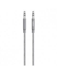 Belkin AV10164BT04-GRY ljudkabel 1.2 m 3,5mm Grå Belkin AV10164BT04-GRY - 1