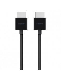 Belkin AV10168bt2M-BLK HDMI-kaapeli 2 m HDMI-tyyppi A (vakio) Musta Belkin AV10168BT2M-BLK - 1
