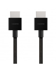 Belkin AV10176BT1M-BLK HDMI-kaapeli 1 m HDMI-tyyppi A (vakio) Musta Belkin AV10176BT1M-BLK - 1