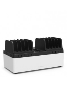 Belkin B2B161VF charging station organizer Desktop & wall mounted Black, White Belkin B2B161VF - 1