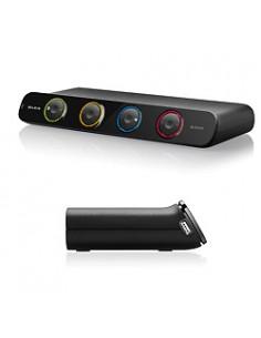 Belkin SOHO KVM Switch, VGA & USB - 4 Port KVM-switchar Belkin F1DS104LEA - 1