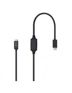 Belkin F2CD001B06-E video cable adapter 1.8 m DisplayPort HDMI Black Belkin F2CD001B06-E - 1