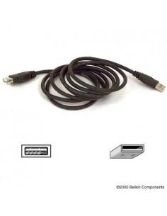 Belkin USB Extension Cable 1.8m USB-kaapeli 1.8 m Musta Belkin F3U134B06 - 1