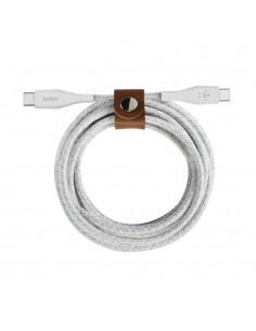 Belkin BOOST CHARGE USB-kablar 1.2 m USB C Vit Belkin F8J241BT04-WHT - 1