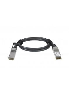 Netgear ACC761-10000S fiberoptikkablar 1 m QSFP28 Svart Netgear ACC761-10000S - 1