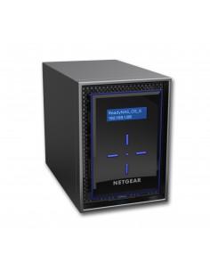 Netgear ReadyNAS 422 NAS Skrivbord Nätverksansluten (Ethernet) Svart C3338 Netgear RN422E4-100NES - 1