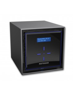 Netgear ReadyNAS 424 NAS Desktop Ethernet LAN Black C3338 Netgear RN424D4-100NES - 1