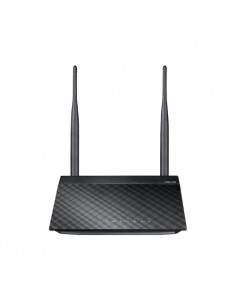 ASUS RT-N12E C1 N300 wireless router Fast Ethernet Single-band (2.4 GHz) Black, Metallic Asus 90-IG29002M03-3PA0- - 1