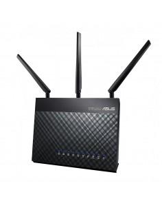 ASUS DSL-AC68U langaton reititin Gigabitti Ethernet Kaksitaajuus (2,4 GHz/5 GHz) 3G Musta Asus 90IG00V1-BM3G00 - 1
