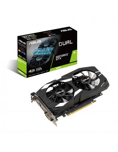 ASUS Dual -GTX1650-4G NVIDIA GeForce GTX 1650 4 GB GDDR5 Asus 90YV0CV3-M0NA00 - 1