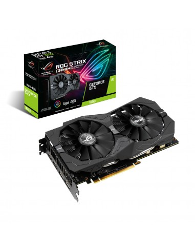 ASUS ROG -STRIX-GTX1650-A4G-GAMING NVIDIA GeForce GTX 1650 4 GB GDDR5 Asus 90YV0CX0-M0NA00 - 1