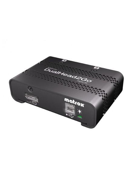 Matrox DualHead2Go Digital SE DisplayPort 2x DVI-D Matrox D2G-DP2D-IF - 3