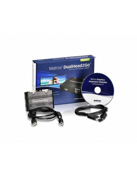 Matrox DualHead2Go Digital SE DisplayPort 2x DVI-D Matrox D2G-DP2D-IF - 11