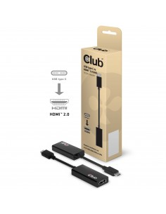 CLUB3D USB 3.1 Type C to HDMI 2.0 UHD Active Adapter Club 3d CAC-1504 - 1