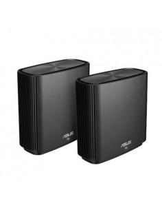 ASUS ZenWiFi AC (CT8) wireless router Gigabit Ethernet Tri-band (2.4 GHz / 5 GHz) Black Asustek 90IG04T0-MO3R20 - 1