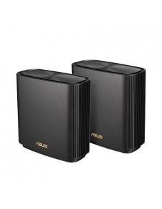 ASUS ZenWiFi AX (XT8) langaton reititin Gigabitti Ethernet Kolmikaista (2,4 GHz/5 GHz) Musta Asustek 90IG0590-MO3G20 - 1