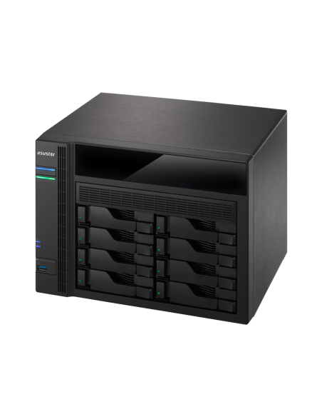 ASUS AS5008T NAS Nätverksansluten (Ethernet) Svart Asustek 90IX00D1-BW3S10 - 6