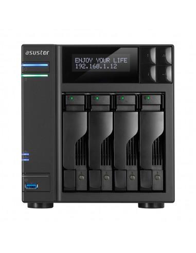 ASUS AS7004T NAS Ethernet LAN Black Asustek 90IX00E1-BW3S10 - 1